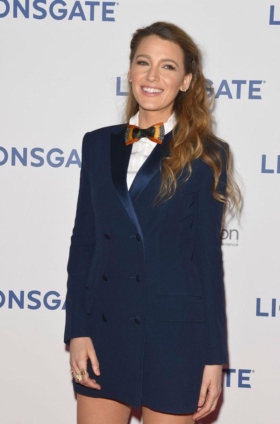 Blake Lively à la soirée Lionsgate CinemaCon 2018 au Caesars Palace à Las Vegas, le 26 avril 2018