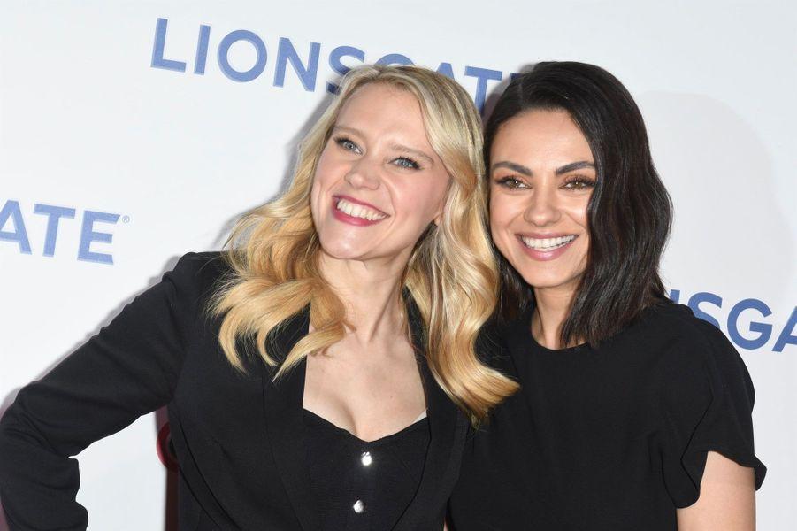 Kate McKinnon et Mila Kunis à la soirée Lionsgate CinemaCon 2018 au Caesars Palace à Las Vegas, le 26 avril 2018