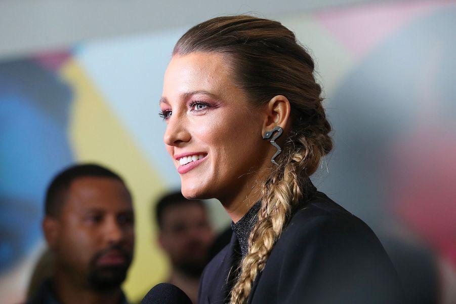 """Blake Lively à l'avant-première du film """"L'Ombre d'Emily"""" à New York, lundi 10 septembre"""