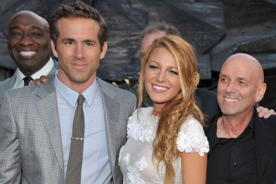 """Blake Lively et Ryan Reynolds en 2011, à la première de """"Green Lantern"""""""