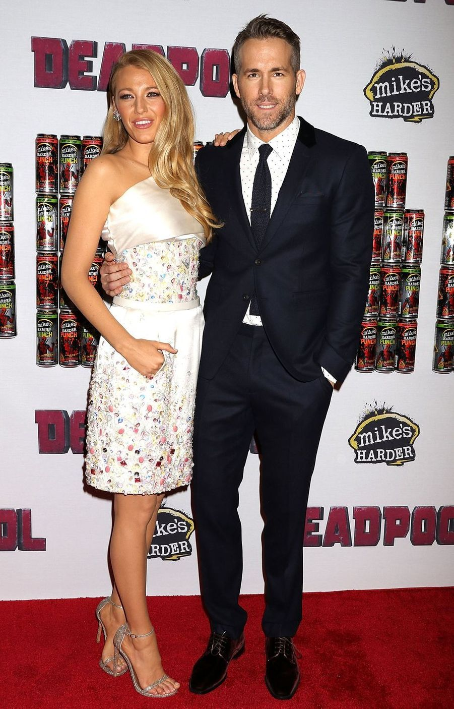 """Blake Lively et Ryan Reynolds en 2016 à la première de """"Deadpool"""""""