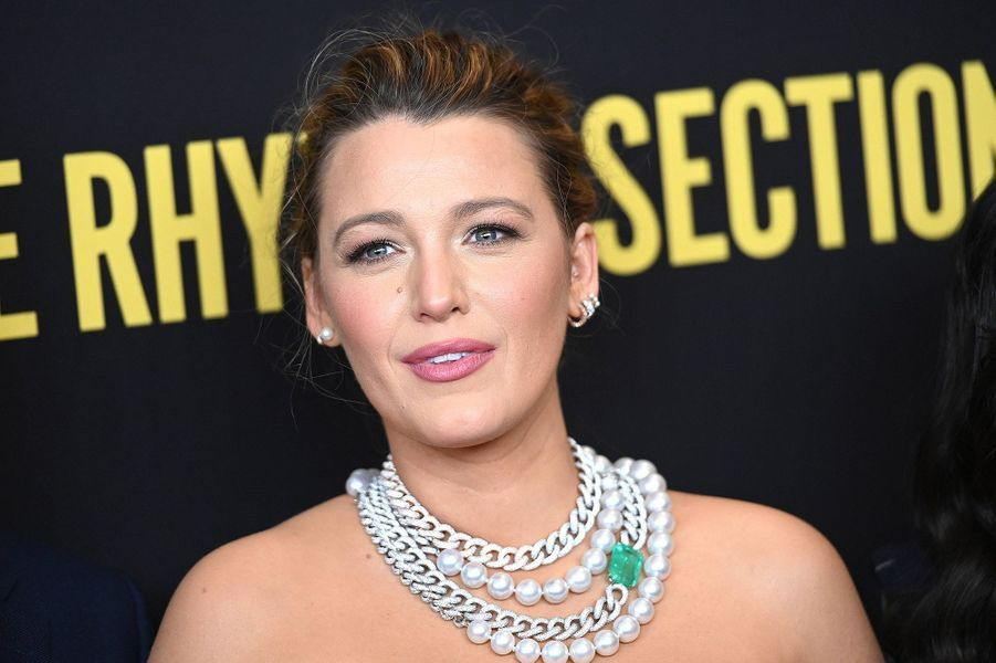 Blake Lively à l'avant-première du film «The Rhythm Section» à New York le 27 janvier 2020