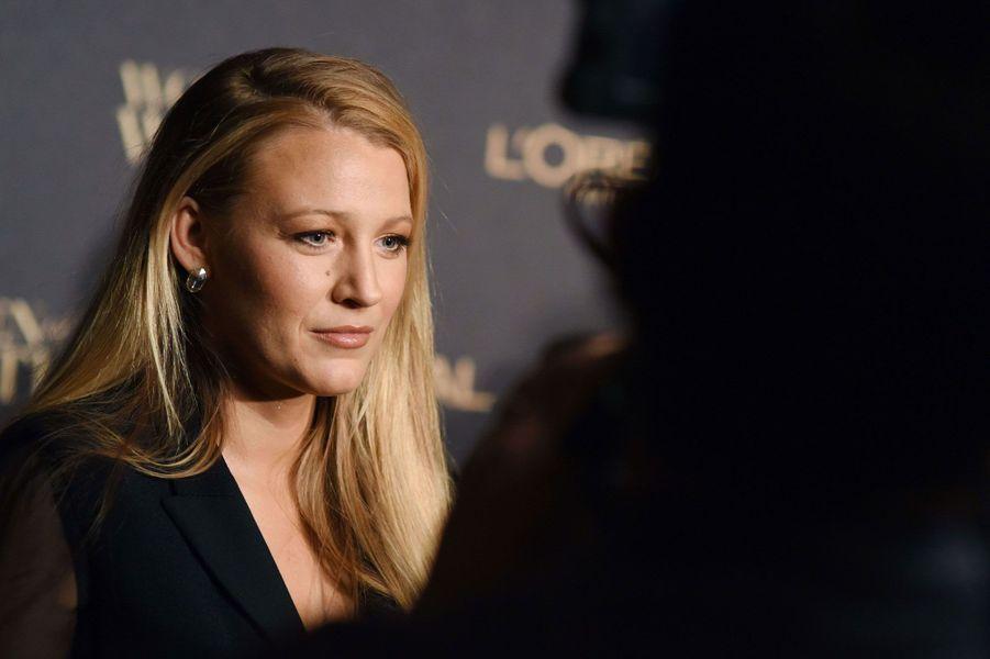 """Blake Lively à la soirée de L'Oréal Paris """"Women of Worth"""""""