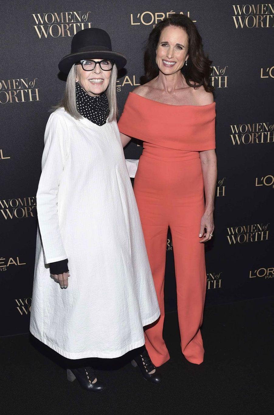 Diane Keaton et Andie McDowell