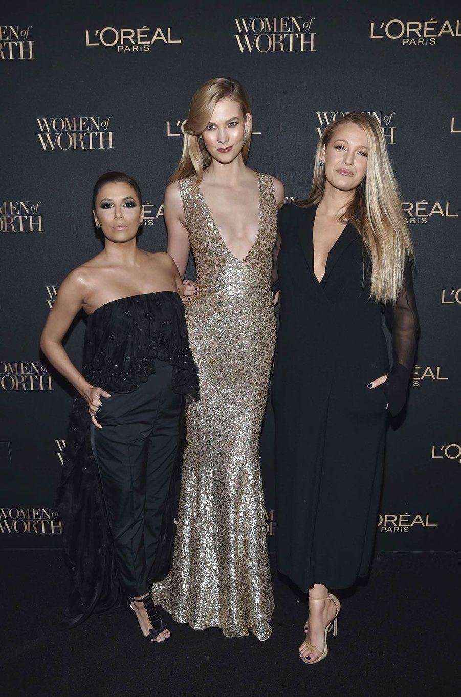 Eva Longoria, Karlie Kloss et Blake Lively