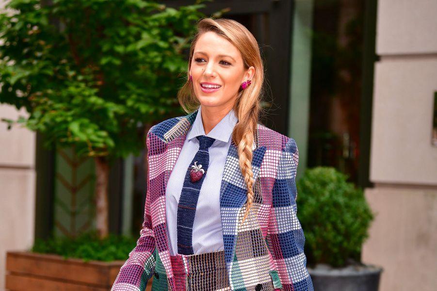 Blake Lively à New York, le 18 août 2018