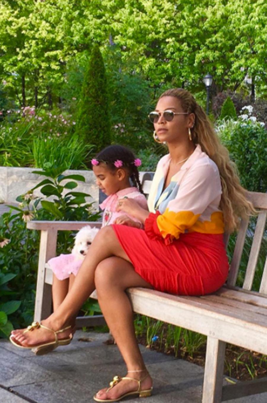 Si Beyoncé est une reine, Blue Ivy est déjà une princesse.