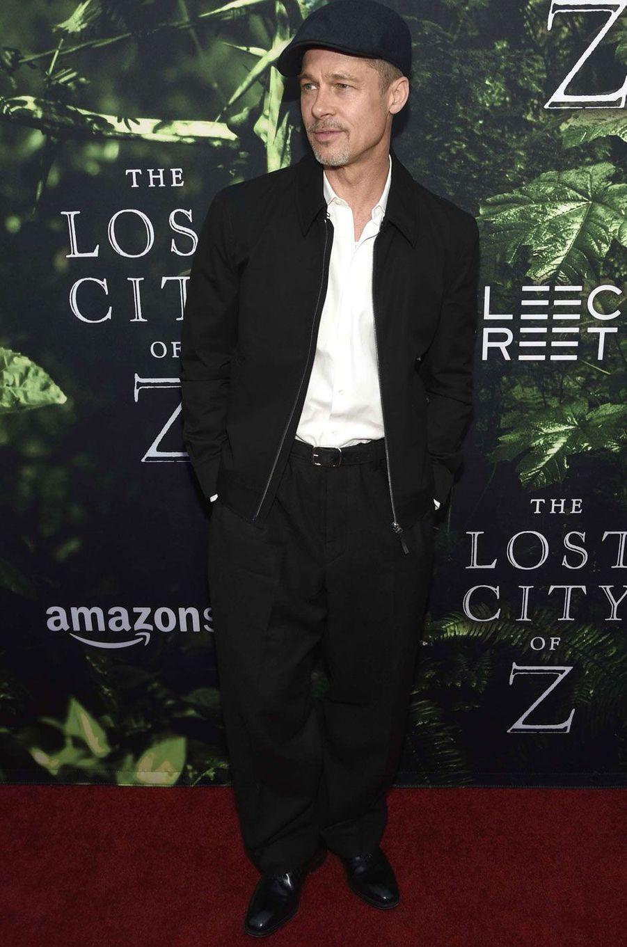 Brad Pitt à Los Angeles.