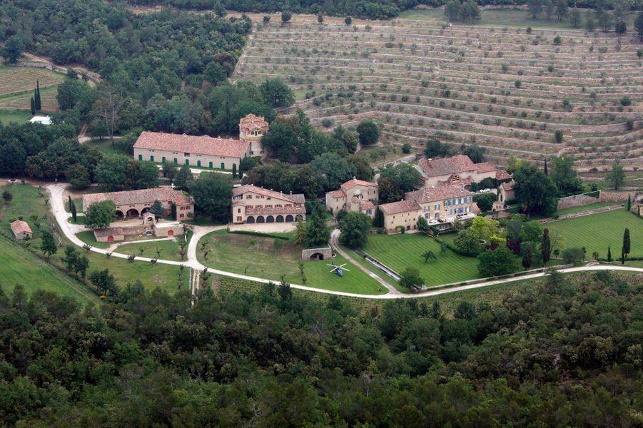 Le chateau de Miraval de Brad Pitt et Angelina Jolie