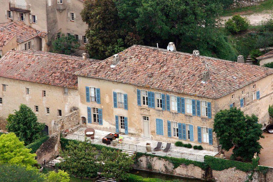 Le chateau de Miraval des Brangelina