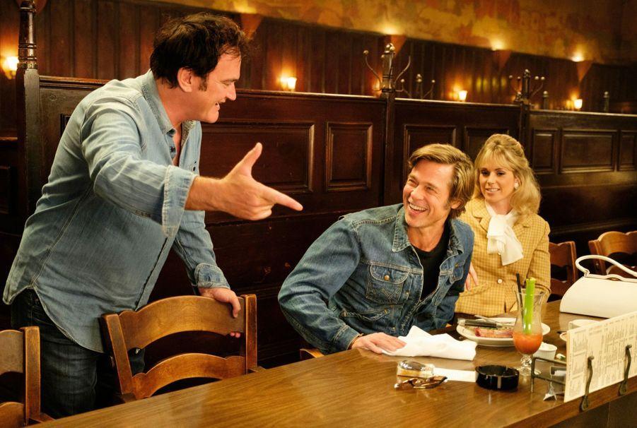 Tarantino sait faire peur, il sait aussi faire rire. A droite, la jeune comédienne Elise Nygaard Olson.