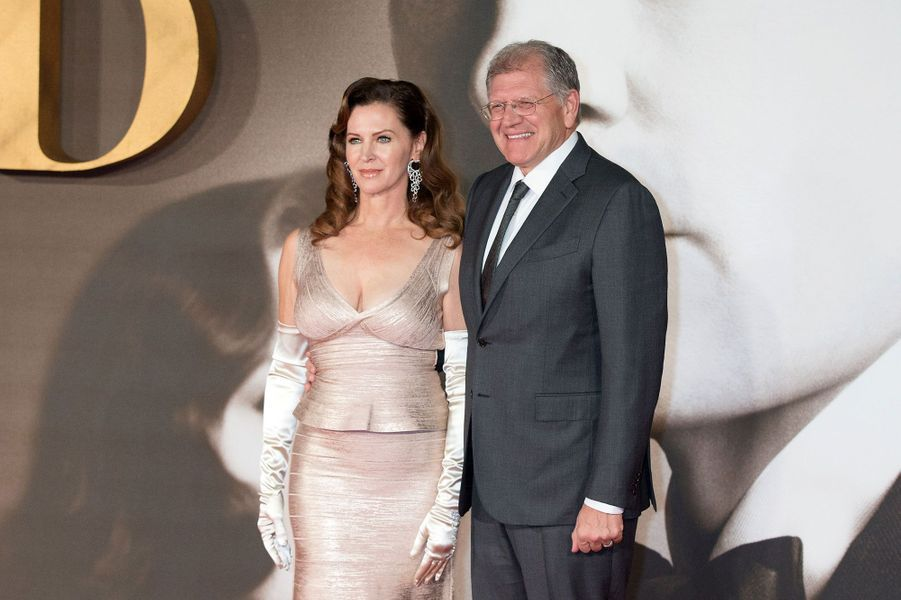 Le réalisateur Robert Zemeckis et sa femme Leslie