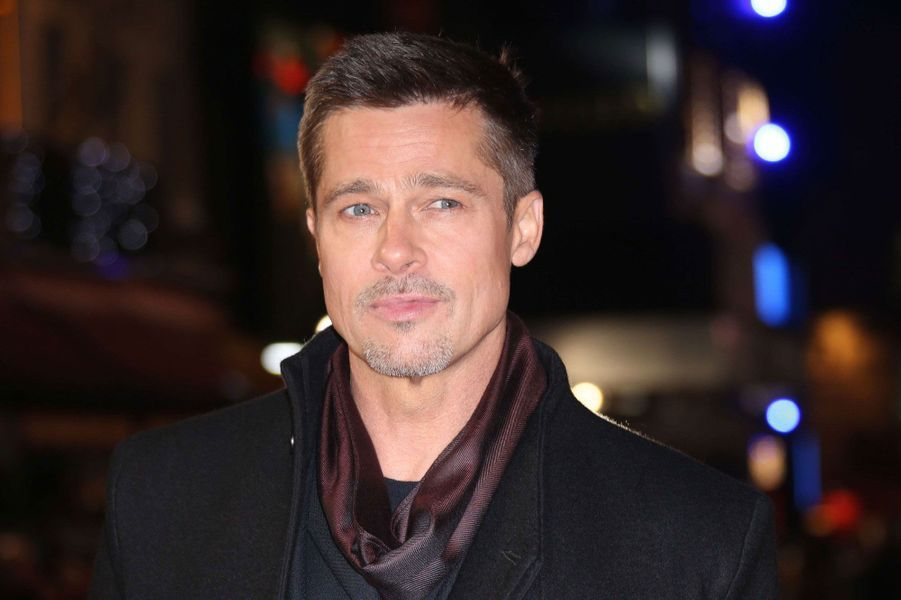 Brad Pitt à Londres