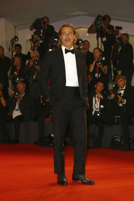 Brad Pitt lors de la première du film «Ad Astra» lors de la 76e édition de la Mostra de Venise le 29 août 2019