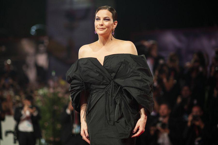 Liv Tylerlors de la première du film «Ad Astra» lors de la 76e édition de la Mostra de Venise le 29 août 2019