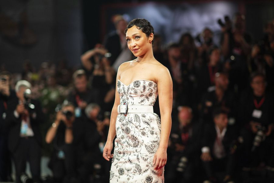 Ruth Neggalors de la première du film «Ad Astra» lors de la 76e édition de la Mostra de Venise le 29 août 2019