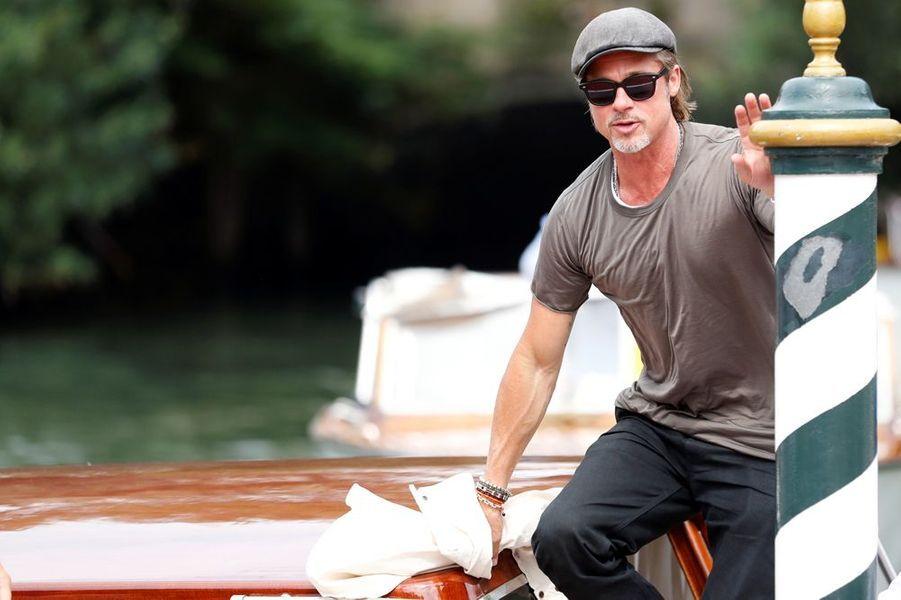 La star américaine a débarqué à la Mostra de Venise ce mercredi. Il présentera jeudi son nouveau film, le drame spatial «Ad Astra», réalisé par James Gray.