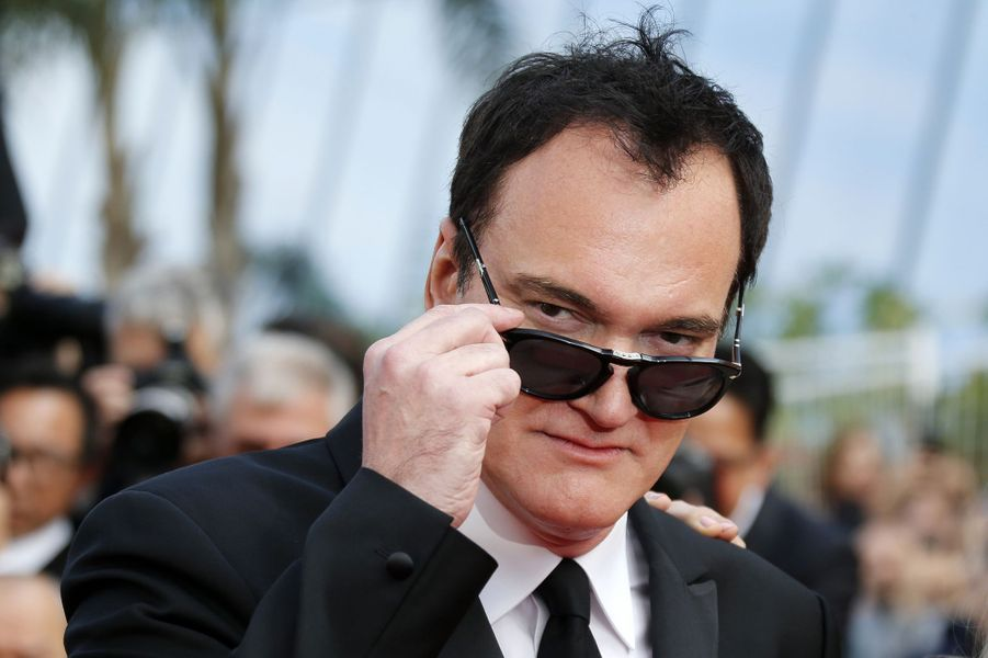 Quentin Tarantino lors de la montée des marches du film «Once Upon A Time In Hollywood» à Cannes le 21 mai 2019