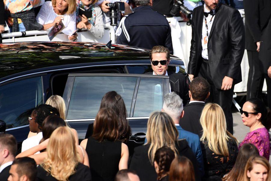 Brad Pitt sur la Croisette le 21 mai 2019