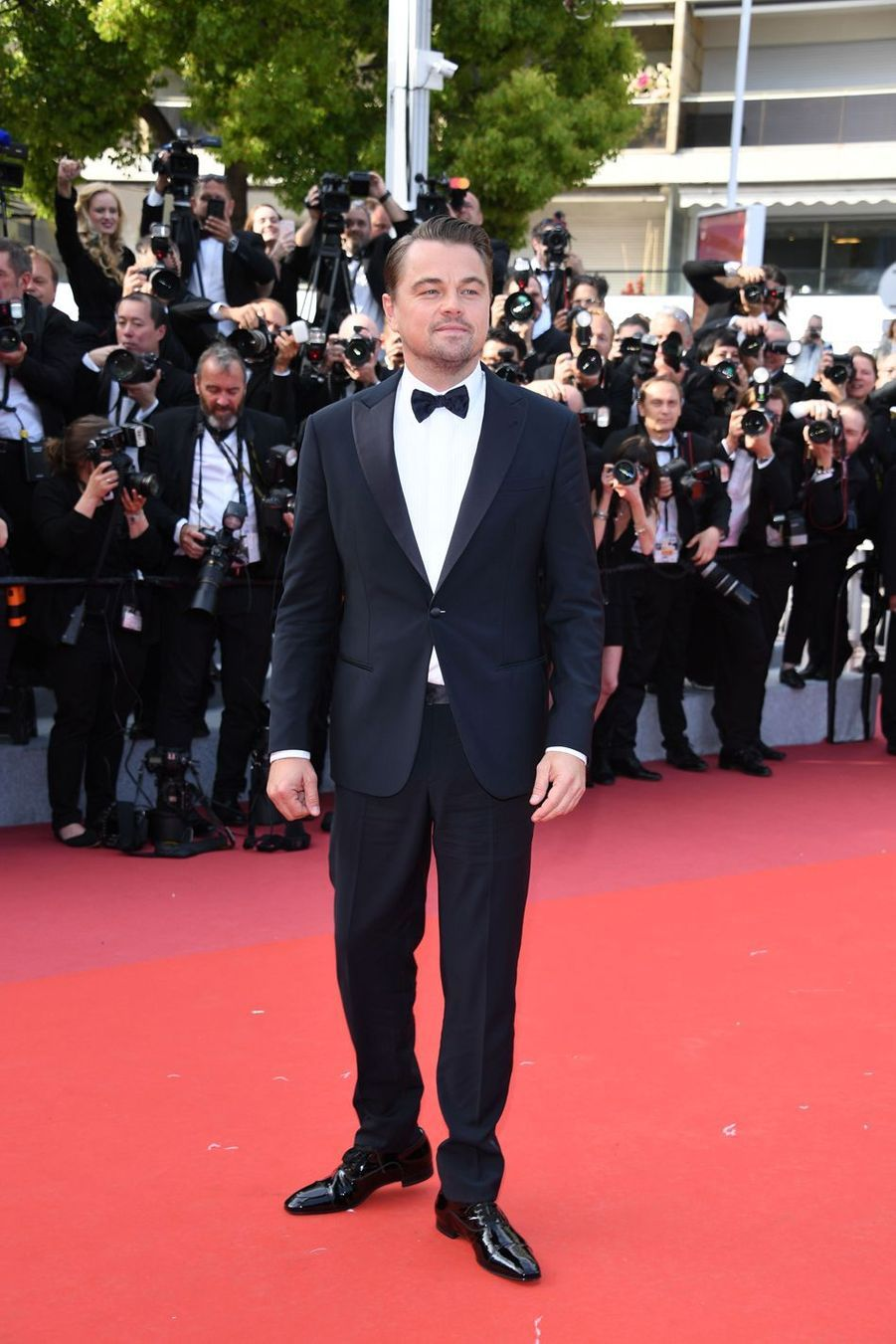Leonardo DiCaprio lors de la montée des marches du film «Once Upon A Time In Hollywood» à Cannes le 21 mai 2019