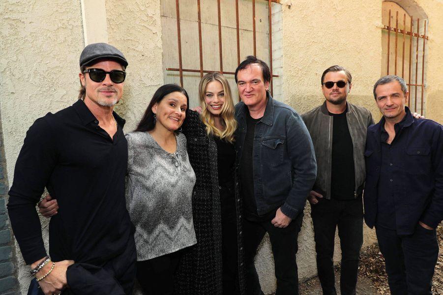 L'équipe de «Once Upon a Time in… Hollywood» était samedi à Los Angeles pour une projection spéciale.