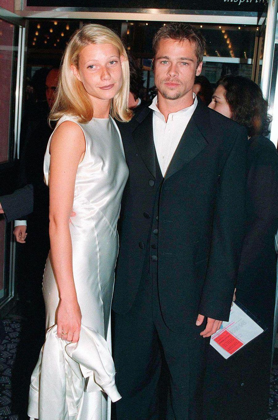 Brad Pitt et Gwyneth Paltrow en 1999