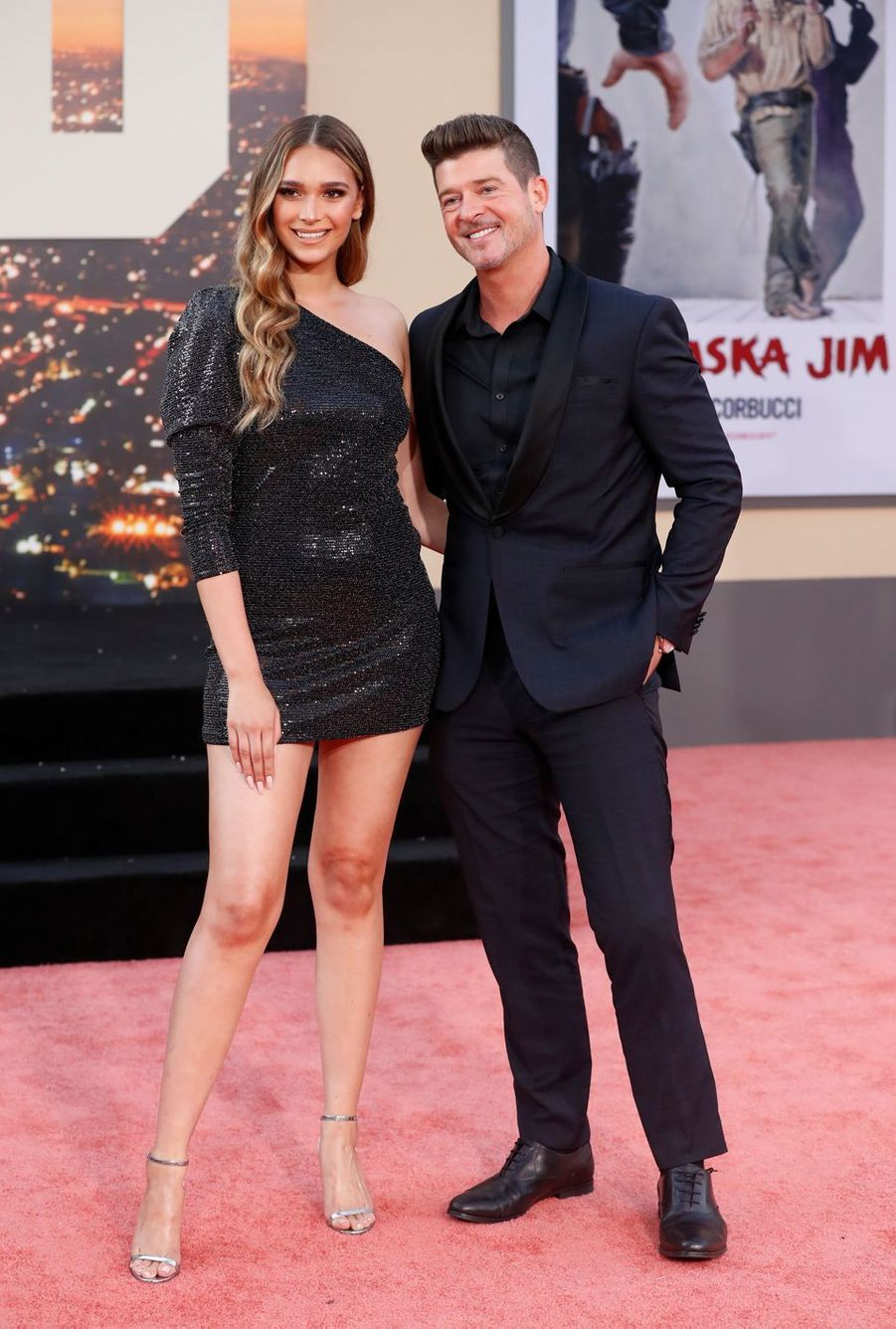April Love Geary et Robin Thicke
