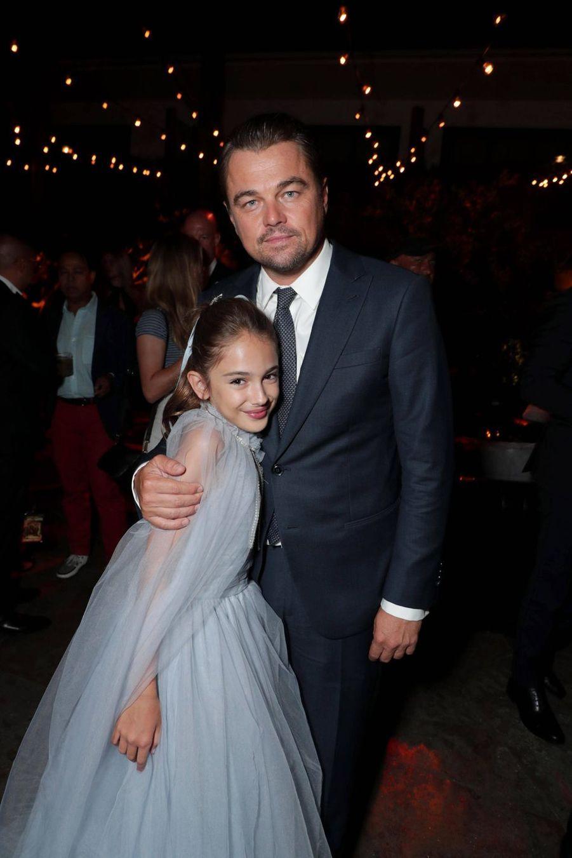 Julia Butters et Leonardo DiCaprio