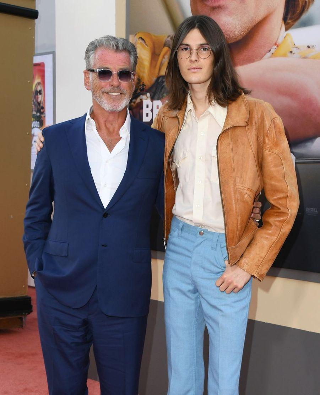 Pierce Brosnan et son fils Dylan