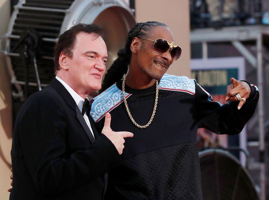 Quentin Tarantino et Snoop Dogg