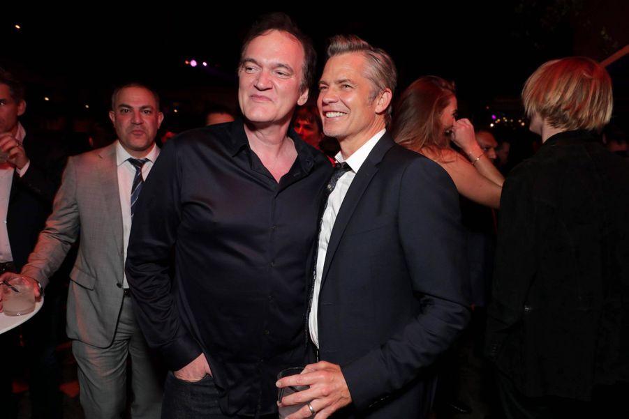 Quentin Tarantino et Timothy Olyphant
