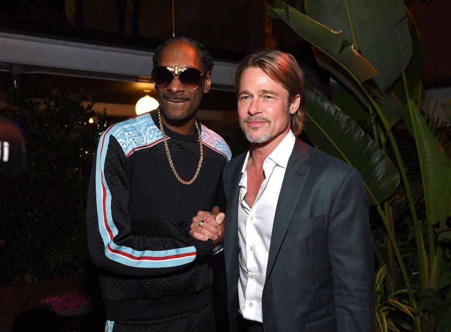 Snoop Dogg et Brad Pitt