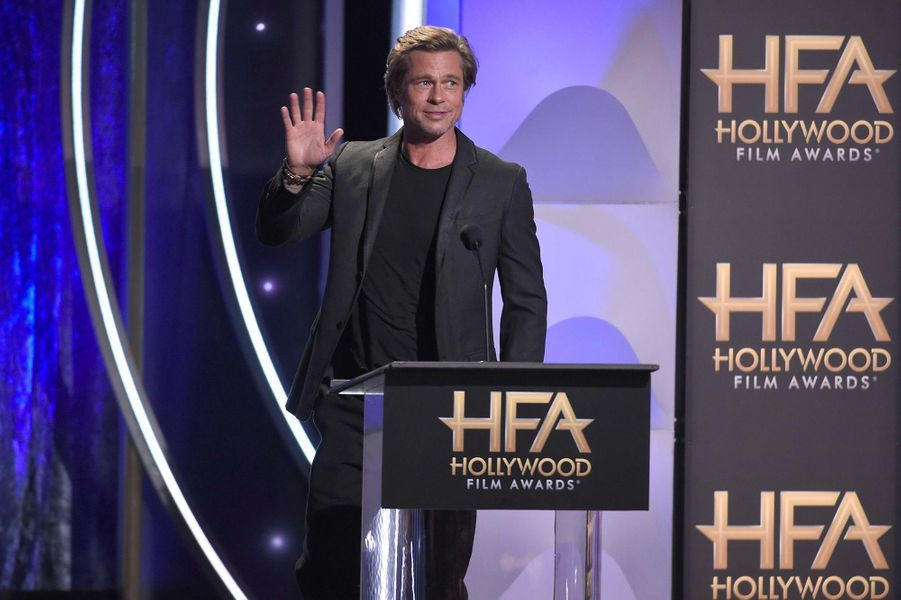 Brad Pitt aux Hollywood Film Awards
