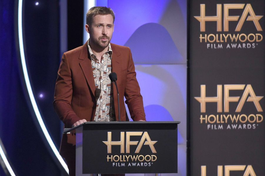 Ryan Gosling aux Hollywood Film Awards