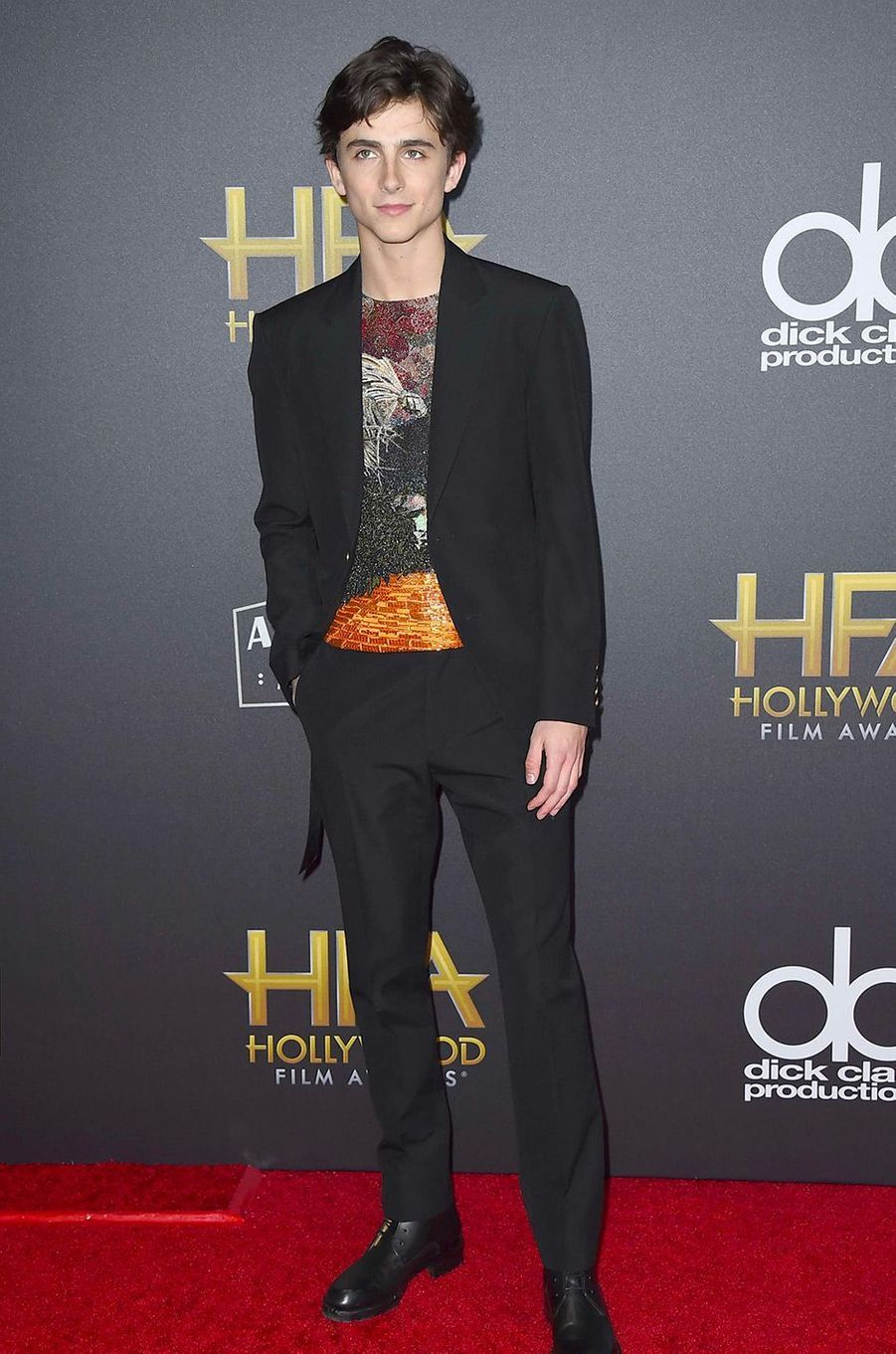 Timothée Chalamet aux Hollywood Film Awards