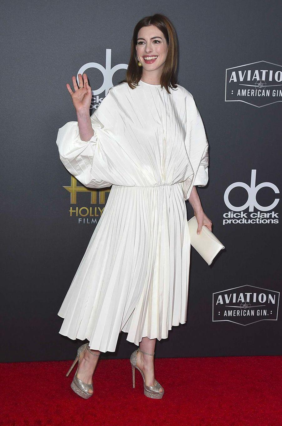 Anne Hathaway aux Hollywood Film Awards