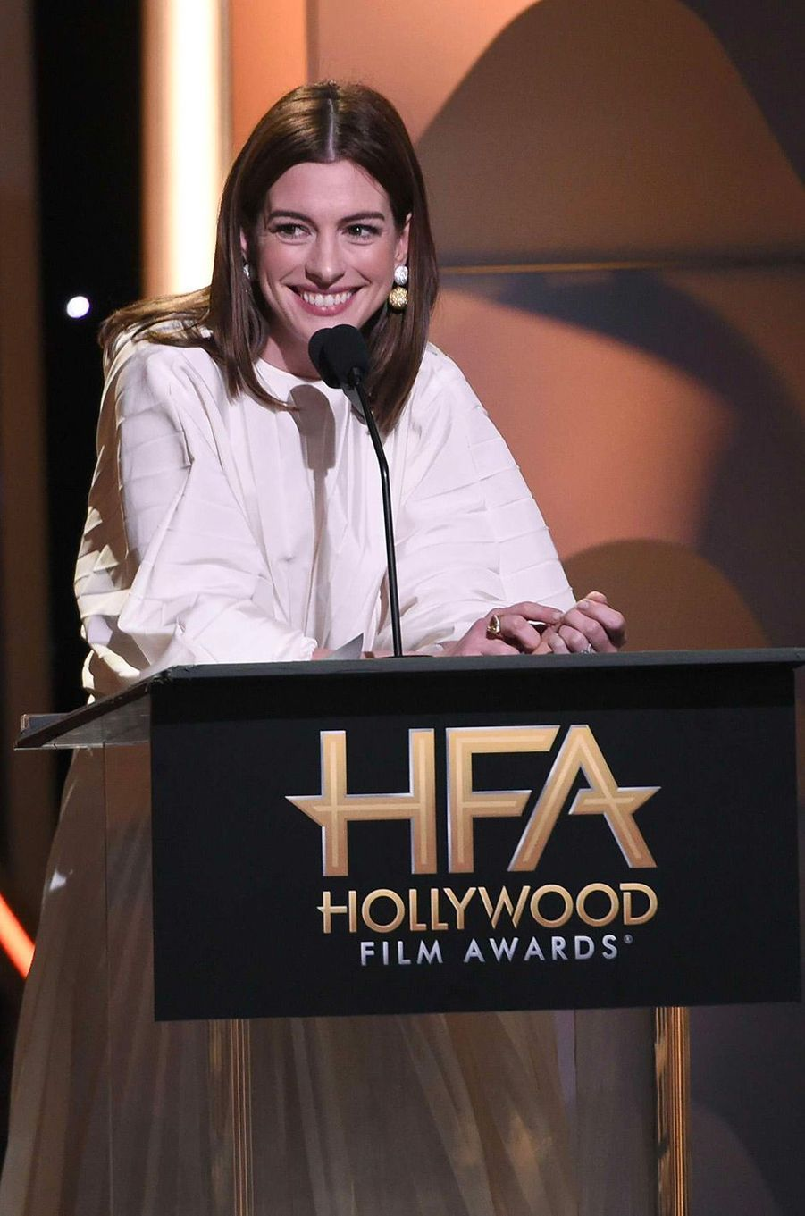 Anne Hathaway aux Hollywood Film Awards