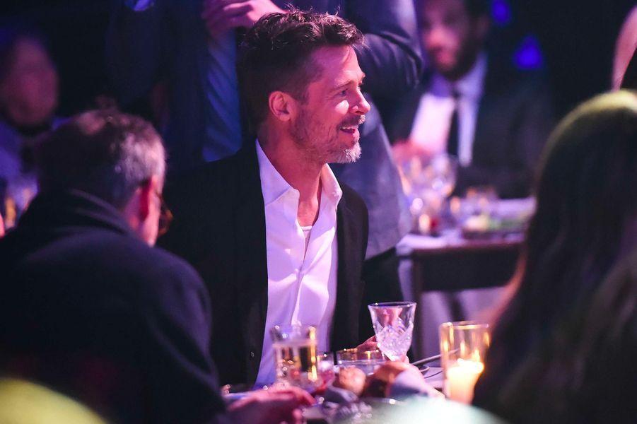 "Brad Pitt au gala annuel ""Haïti Raising"""