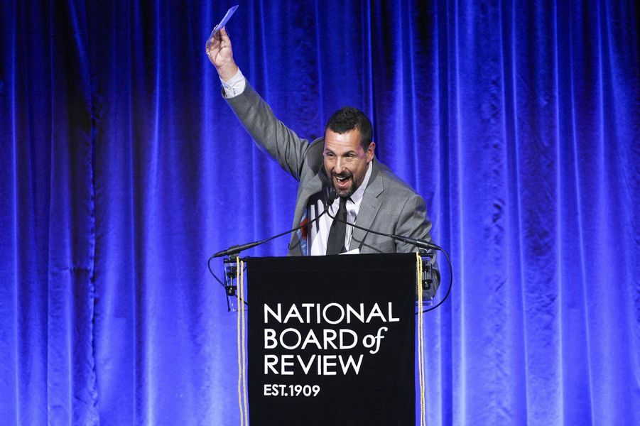 Adam Sandler à la cérémonie du National Board of Review au Cipriani à New York le 8 janvier 2020