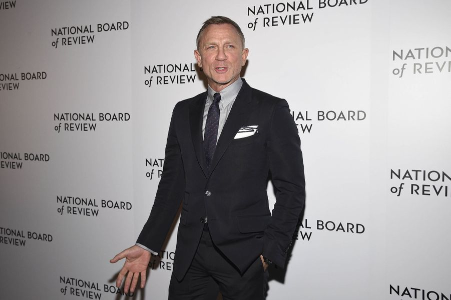 Daniel Craig à la cérémonie du National Board of Review au Cipriani à New York le 8 janvier 2020