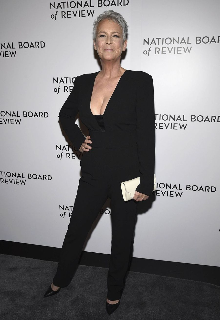 Jamie Lee Curtis à la cérémonie du National Board of Review au Cipriani à New York le 8 janvier 2020