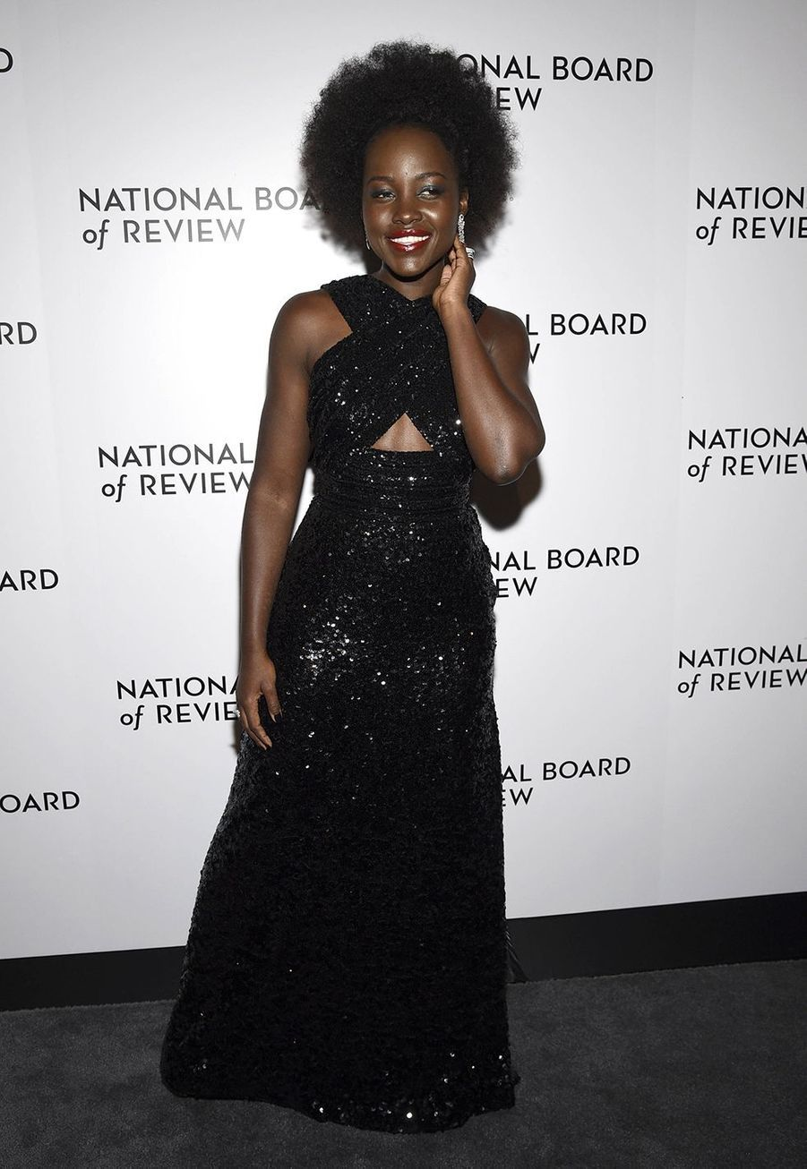 Lupita Nyong'o à la cérémonie du National Board of Review au Cipriani à New York le 8 janvier 2020