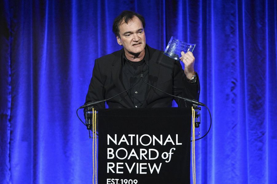 Quentin Tarantino à la cérémonie du National Board of Review au Cipriani à New York le 8 janvier 2020