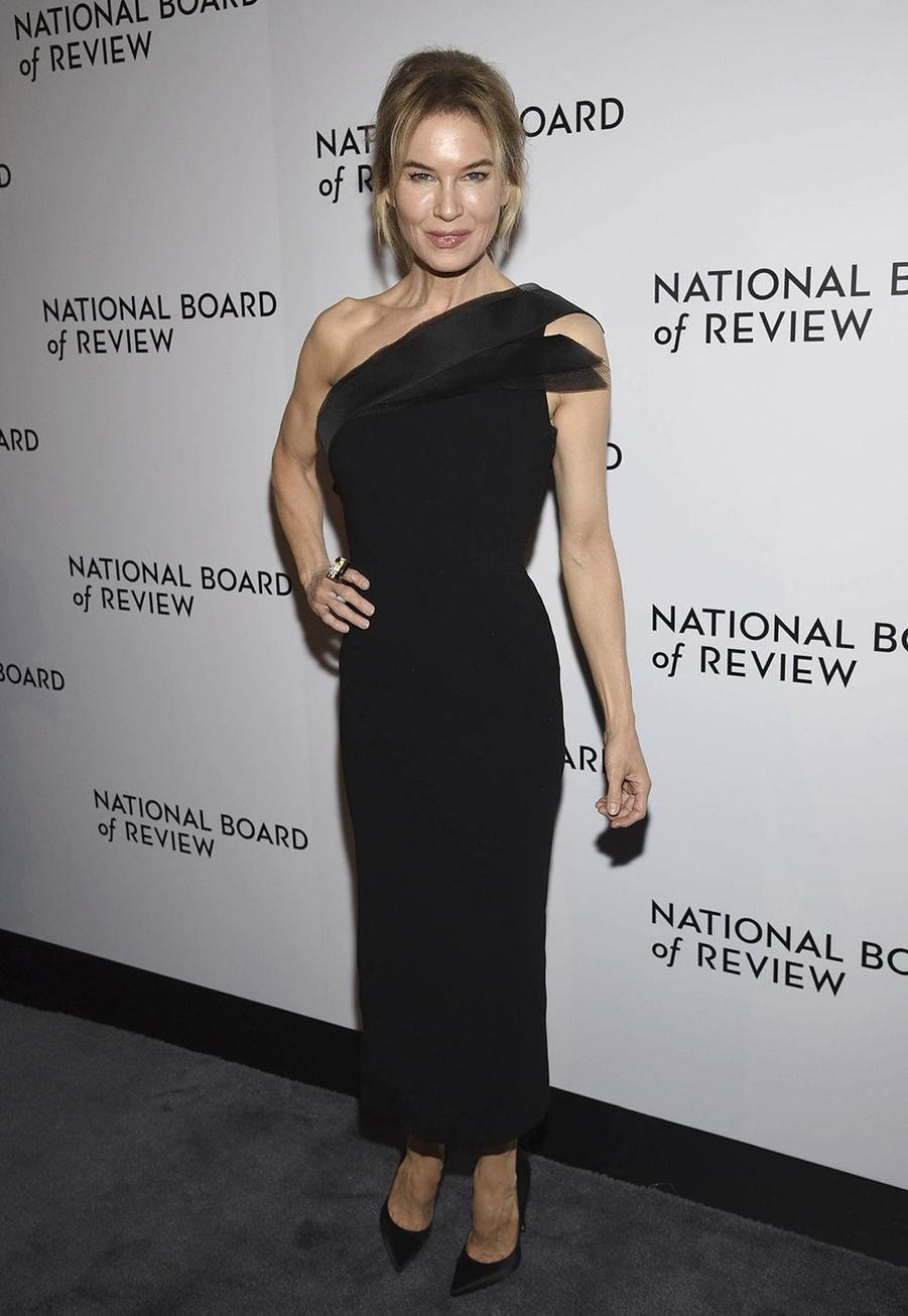 Renée Zellweger à la cérémonie du National Board of Review au Cipriani à New York le 8 janvier 2020