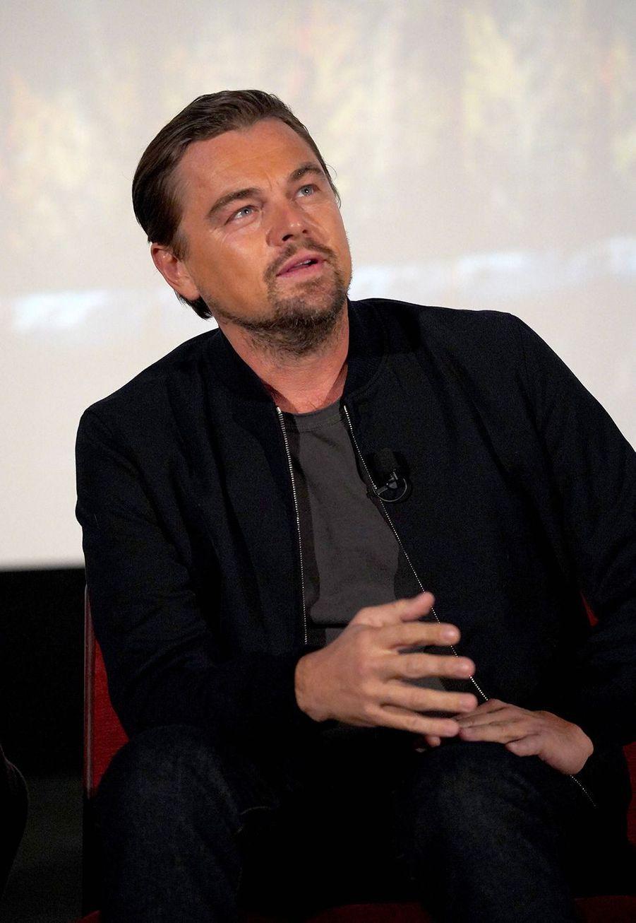 Leonardo DiCapriolors d'un panel Q&A autour du film «Once Upon A Time In Hollywood» à Los Angeles le 17 décembre 2019