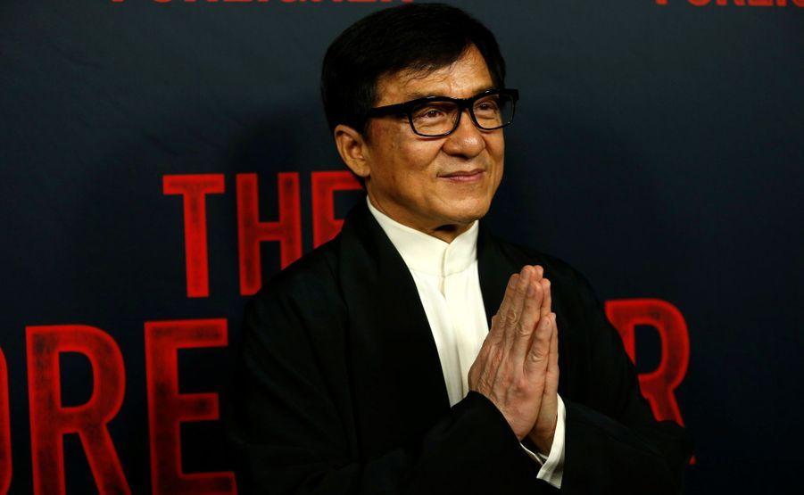 5 - Jackie Chan (58 millions de dollars)