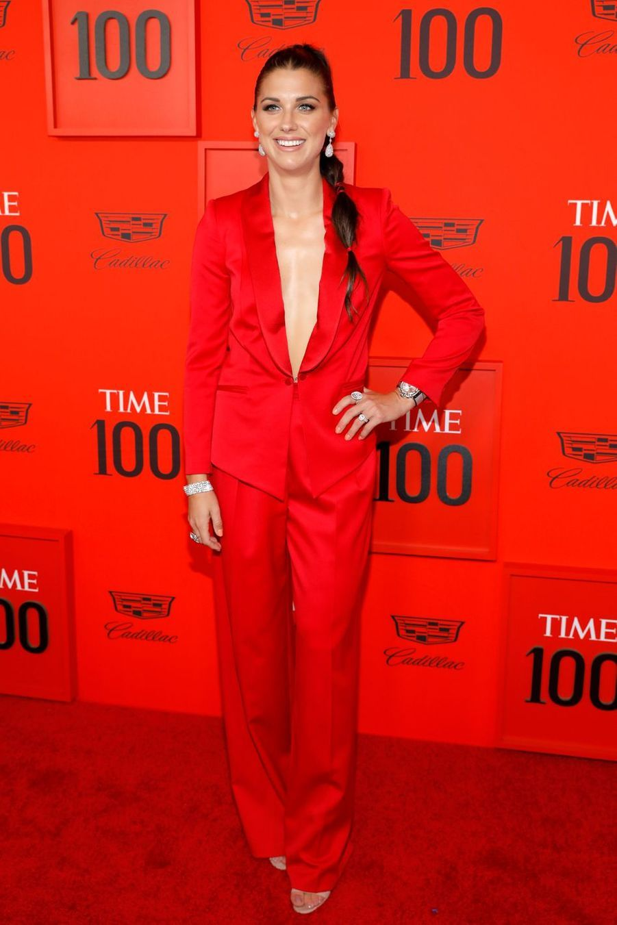 Alex Morgan au Time 100 Gala à New York le 23 avril 2019