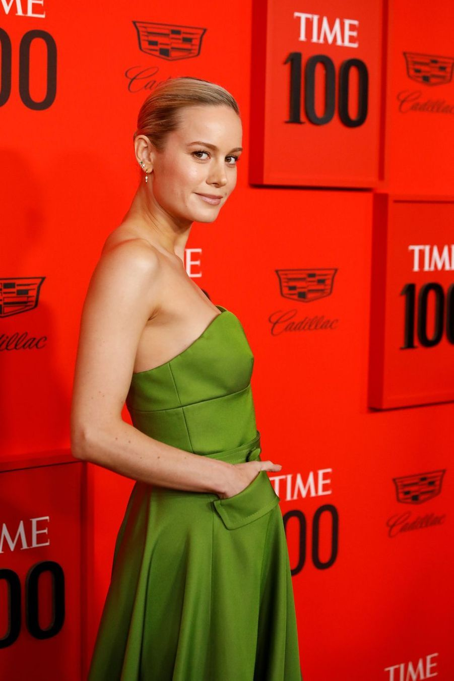 Brie Larson au Time 100 Gala à New York le 23 avril 2019