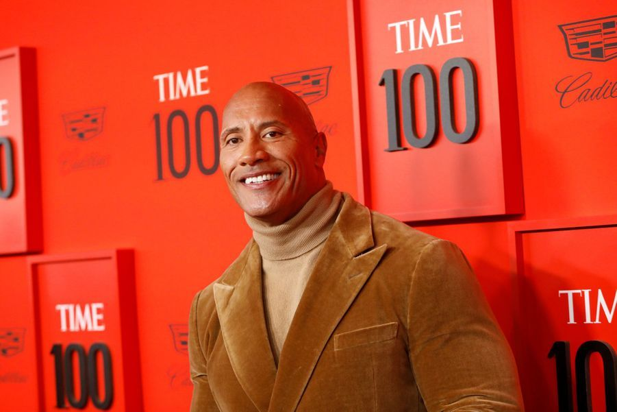 Dwayne Johnson au Time 100 Gala à New York le 23 avril 2019