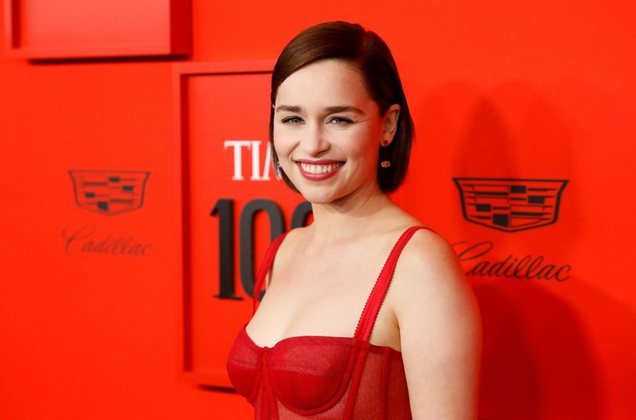 Emilia Clarke au Time 100 Gala à New York le 23 avril 2019